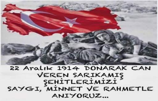 Sarıkamış Şehitlerimizi anma albümü