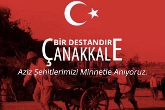 18 Mart Çanakkale Şehitlerimizi rahmetle anıyoruz