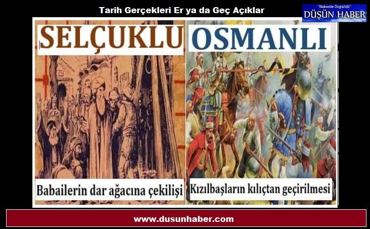 Anadolu Topraklarında Türk'ün Türk'e zulmü ve ihaneti